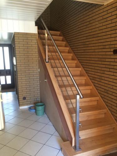 Geländer Querstab Holztreppe