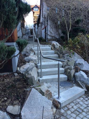 Geländer outdoor