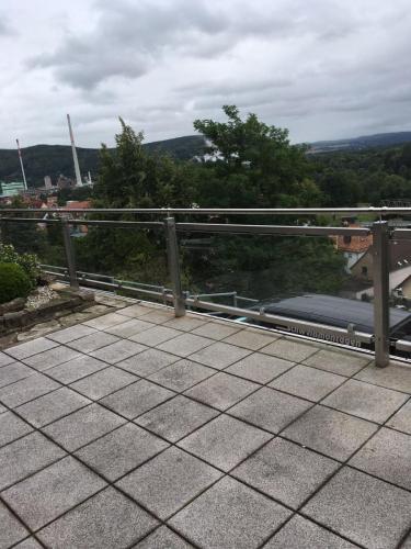 Terrassenbrüstung